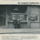 1968 Benrus Watch Company Switzerland Vintage 1968 Swiss Ad Suisse Advert Horlogerie