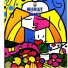 Romero Britto Absolut Britto Art Ad Absolut Vodka Advertisement Advert