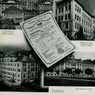 1944 Bulletins de Marche Chronometry Certificates 1944 Swiss Magazine Article Horology