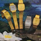 Solvil & Titus Watch Company Solvil et Titus Vintage 1976 Swiss Ad Suisse Advert