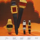 Wittnauer Watch Company Switzerland Vintage 1976 Swiss Ad Suisse Advert Horology