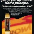 RoWi Rodi & Wienenberger AG Company 1973 Swiss Ad Advert Horology Horlogerie