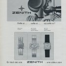 1968 Zenith Watch Company Zenith SA Vintage 1968 Swiss Ad Suisse Advert Horology