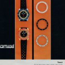 1968 Tissot Watch Company Tissot Carrousel Advert Vintage 1968 Swiss Ad Suisse Advert Horology