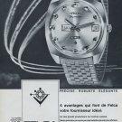 Felca Watch Company Skymaster Advert Vintage 1968 Swiss Ad Suisse Advert Titoni