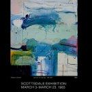 James Havard Radnor Green Vintage 1983 Art Exhibition Ad Advert Elaine Horwitch Galleries