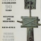 1983 Joan Miro 90 Years A Celebration 1983 Art Exhibition Ad Advert Advertisement