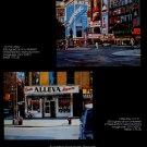 Ken Keeley Vintage 1983 Art Ad Tin Pan Alley Little Italy NYC Advert