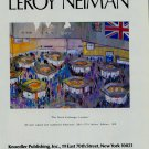 LeRoy Neiman Stock Exchange London Advert 1983 Art Ad Advertisement
