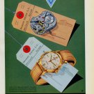 1951 Reusser Watch Company Bevilard Switzerland Vintage 1951 Swiss Ad Suisse Advert Horology