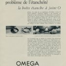 1955 Omega Watch Co Joint O Vintage Swiss Print Ad Suisse Publicite Montres Switzerland Schweiz