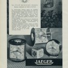 1955 Jaeger Clock Company Switzerland Vintage 1955 Swiss Ad Suisse Advert Horology