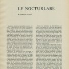 1956 Le Nocturlabe by Edmond Guyot Horology Vintage 1956 Swiss Magazine Article Horlogerie