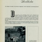 1956 Stockholm Equestrian Olympics 1956 Omega Time Recorder Swiss Magazine Article