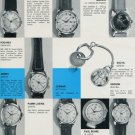 1956 Swiss Watch Fair Basle Switzerland Foire de Bale 1956 Swiss Magazine Clipping Photos