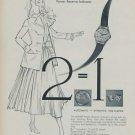 Admes Watch Company 1954 Swiss Ad Geneva Switzerland Geneve Suisse