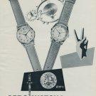 Aero Watch Company Neuchatel Switzerland Vintage 1954 Swiss Ad Suisse Advert