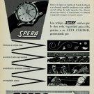 Spera Watch Company Clientes Satisfechos Vintage 1956 Swiss Ad Suisse Advert  Horlogerie Horology