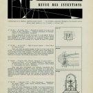 Revue Swiss Horology Patents Inventions 1959 Revue Brevets Suisse l'Horlogerie