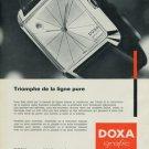 1965 Doxa Watch Company Vintage 1965 Swiss Ad Suisse Advert Le Locle Switzerland