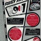 1954 Ruby Shock Advert Seitz Company Vintage 1954 Swiss Ad Suisse Advert Horology Switzerland