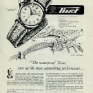 1951 Tissot Watch Company Le Locle Switzerland Vintage 1951 Swiss Ad Suisse Advert Horlogerie