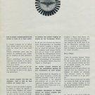 Longines Watch Company Switzerland 1965 Swiss Ad Suisse Advert Horlogerie