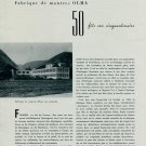 Numa Jeannin SA Olma Watch Company 50th Anniversary 1956 Swiss Magazine Article