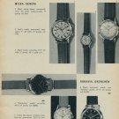 New Models 1957 Swiss Magazine Article Ulysse Nardin Watch Company Doxa Octus