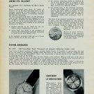 1957 Lavina Watch Company Cortebert EternaNew Calibre Models 1957 Swiss Magazine Article