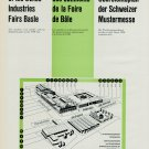 1957 Swiss Industries Fair Vintage 1957 Swiss Magazine Clipping Foire de Bale