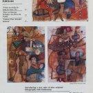 Theo Tobiasse Fruits Accroches le Long de Notre Vie 1984 Art Ad Advert Advertisement