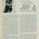 1957 Hamilton Watch Company Interview Marius Lavet 1957 Swiss Magazine Article Suisse