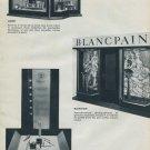 Bale 1960 Vu Par Le Decorateur Vintage Swiss Watch Fair Swiss Magazine Article Clipping Photos