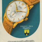 1951 Buren Watch Company Switzerland 1951 Swiss Ad Suisse Advert Horlogerie Horology