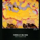 1986 Norman Bluhm Yangtse Baby 1986 Art Exhibition Ad Advertisement