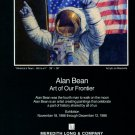 Alan Bean 1986 Art Exhibition Ad 4th Man on the Moon Art of Our Frontier Advert