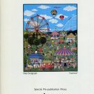 Jane Wooster Scott Vintage 1986 Art Ad Advert Carnival Advertisement