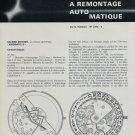 1968 Movado Watch Company Kingmatic La Montre Suisse Remontage Swiss Magazine Article