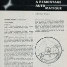 Felsa Watch Company La Montre Suisse a Remontage 1968 Swiss Magazine Article