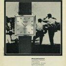 1965 Exactus Watch Company 1965 Swiss Ad Suisse Advert Neuchatel Geneva Switzerland Geneve