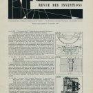 Revue 1958 Horology Inventions Patents Brevets Suisses Horlogerie 1959 Swiss Magazine Article