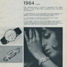 1964 Foire de Bale Swiss Watch Fair Vintage 1964 Swiss Magazine Clipping Basle Switzerland Suisse