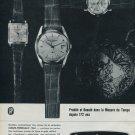 1964 Girard-Perregaux Watch Company Switzerland Vintage 1964 Swiss Ad Suisse Advert