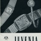 1964 Juvenia Watch Company Switzerland Vintage 1964 Swiss Ad Suisse Horlogerie Advert