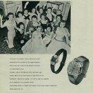 1957 Grandia Watch Company Neuchatel Switzerland Vintage 1957 Swiss Ad Suisse Advert