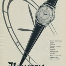 1954 Helvetia Watch Company Switzerland Vintage 1954 Swiss Ad Suisse Advert Horology