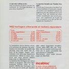 1977 Incabloc Portescap Company Vintage 1977 Swiss Ad Suisse Advert Horlogerie Switzerland