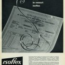 1965 Isoflex Watch Parts Company Neuchatel Switzerland Vintage 1965 Swiss Ad Suisse Advert  Horology