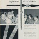 1959 La Femme Inspiratrice de la Montre 1959 Swiss Magazine Clipping Horlogerie Horology